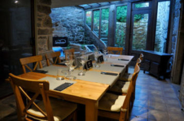 Reservado para comer menús para grupos en Santiago de Compostela